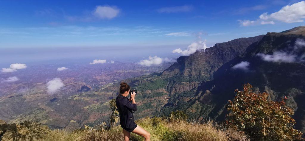 hiken in ethiopië
