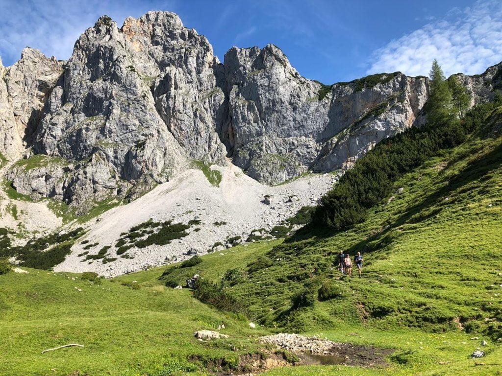 Wandelen Oostenrijk huttentocht