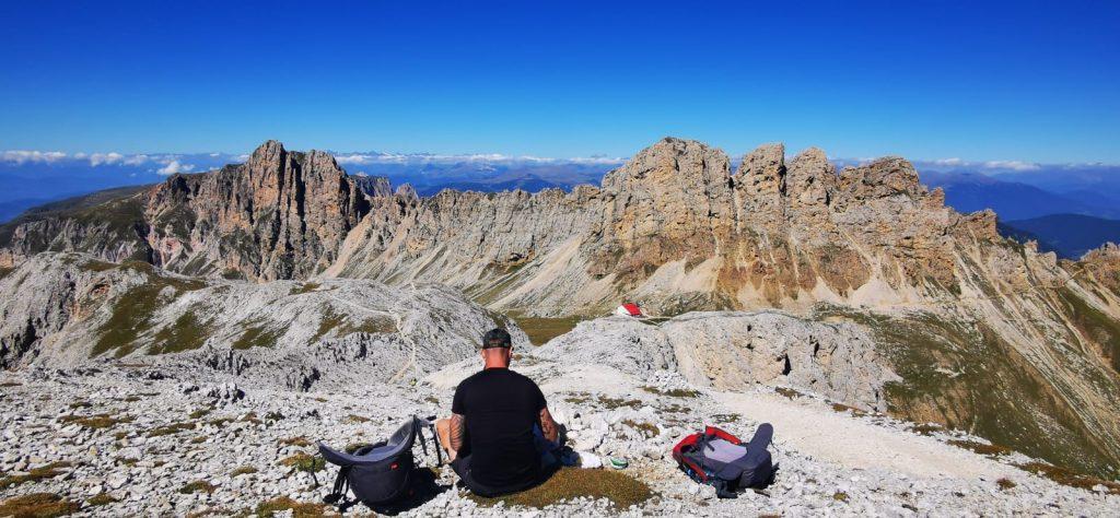 Hiken Dolomieten huttentocht