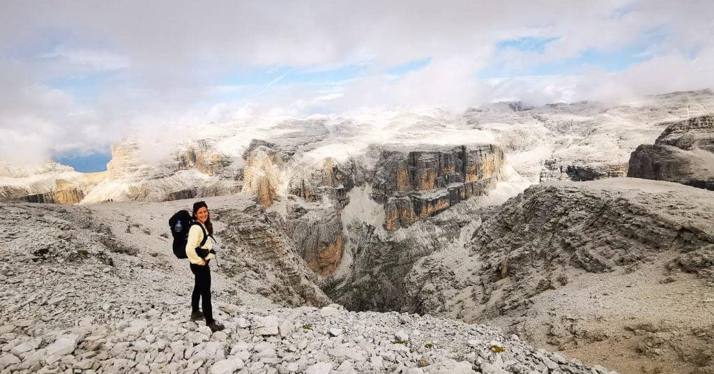 hiken in de Dolomieten